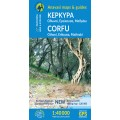 Corfu • Hiking map 1:40 000
