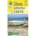Crete • Road map 1:280000