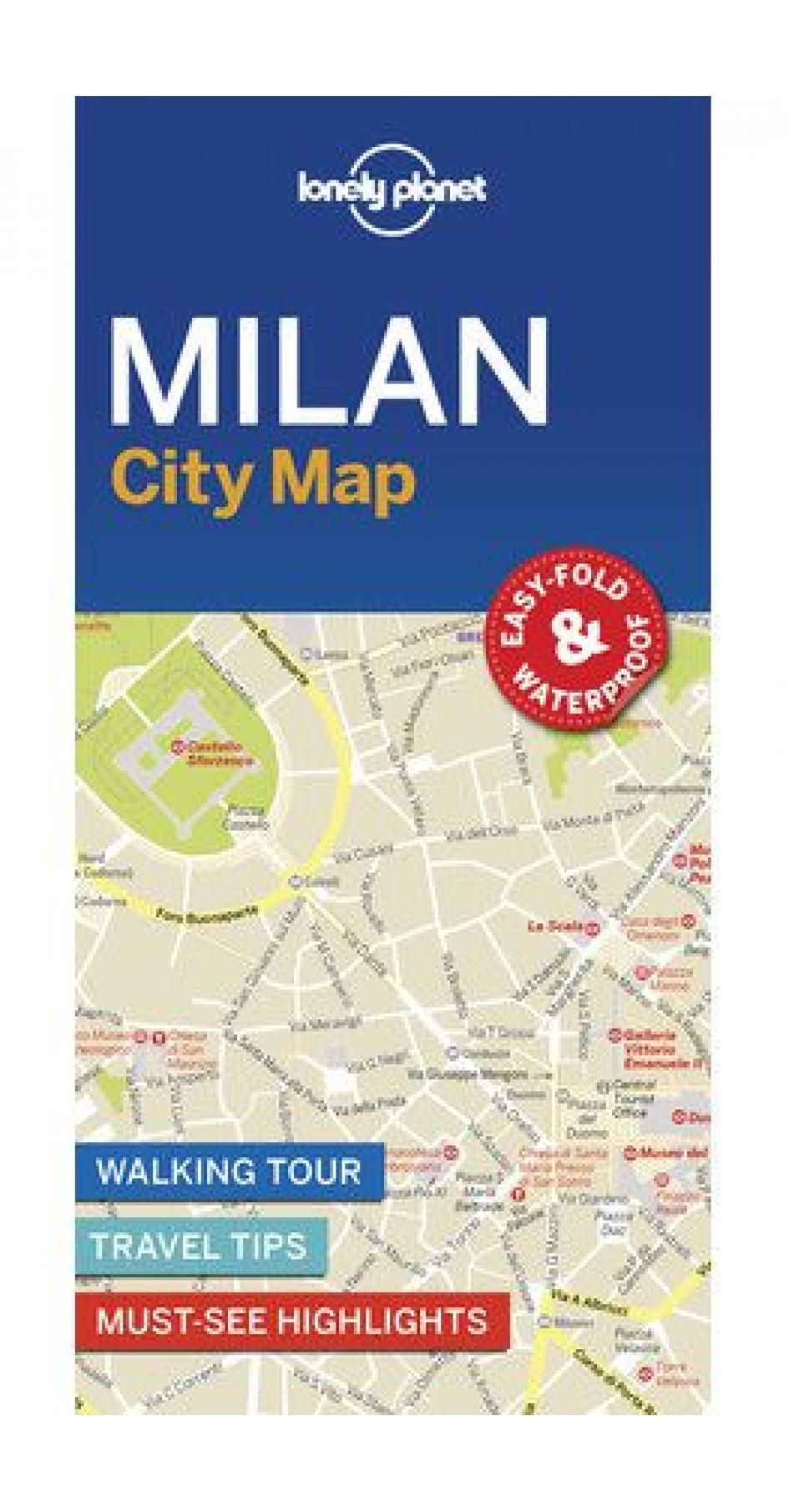 Milan City map