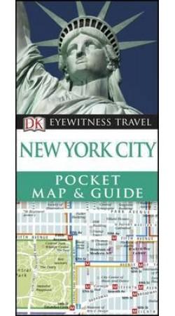 New York City Pocket Map & Guide DK Eyewitness Travel