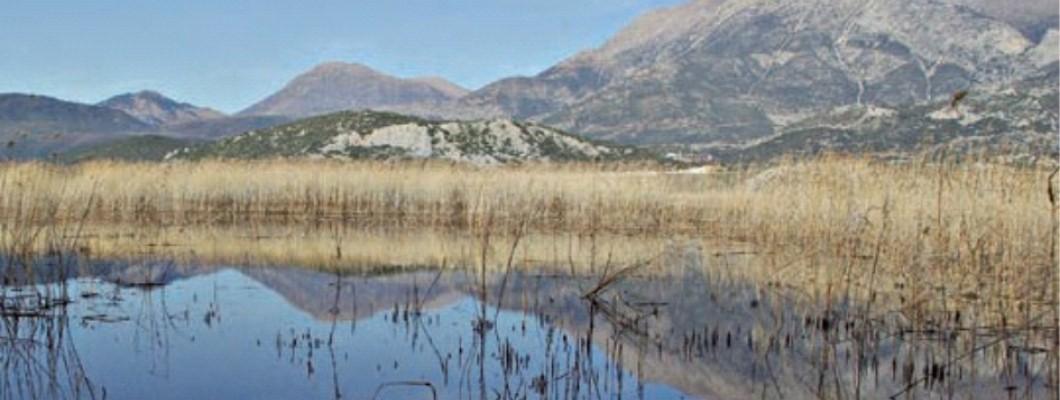 Touring in lake Stymfalia