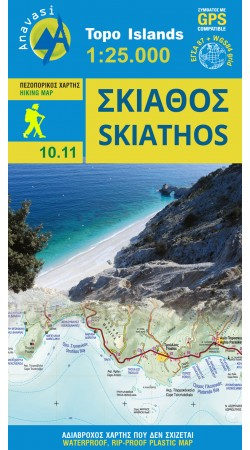 Skiathos • Hiking map 1:25.000