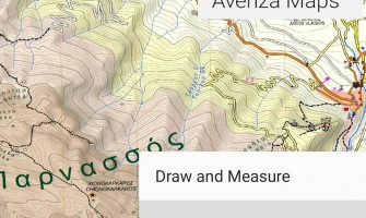 Anavasi maps in Avenza maps app