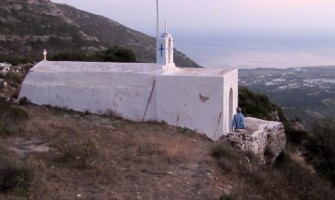 Hiking in Paros Footpath 2 from Dryos to Lefkes