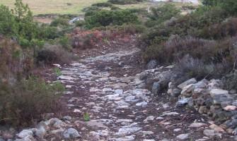 Hiking in Paros footpath 4 from Agkairia to Lefkes