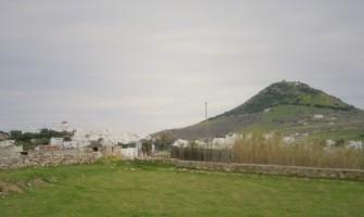 Hiking in Paros, the area around Marpissa