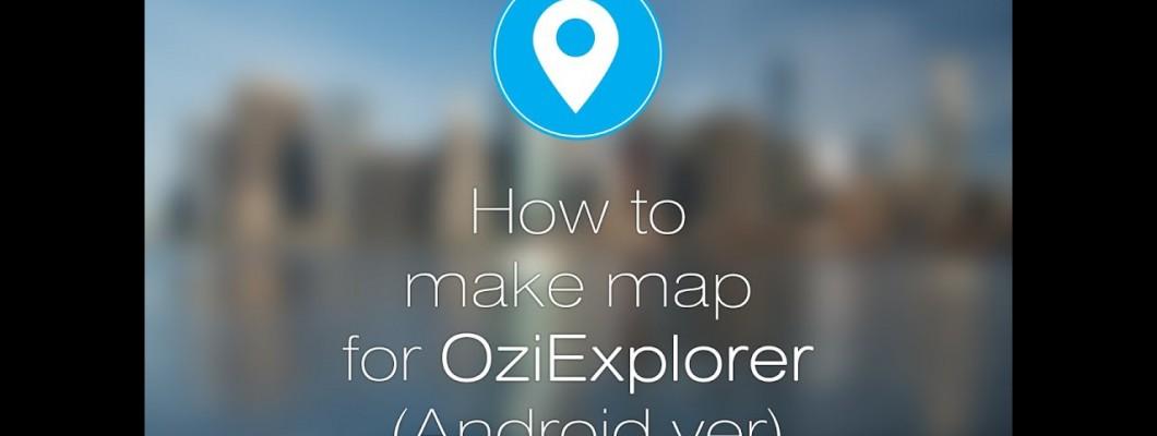 Adding Anavasi maps in Oziexplorer