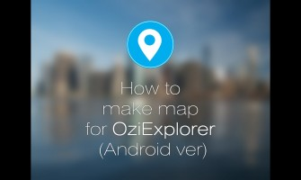 Adding Anavasi maps in Oziexplorer