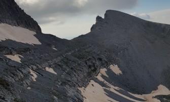 Hiking on Mount Olympus