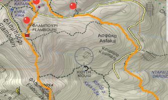 Anavasi maps in Avenza maps app