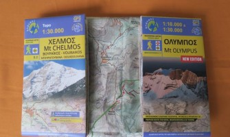 Anavasi maps featuring trail running