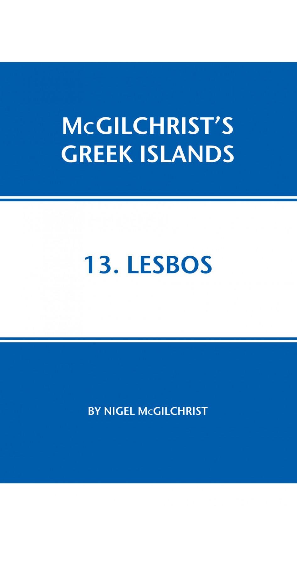 13. Lesbos - McGilchrist's Greek Islands