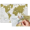 Scratch the World® World Map