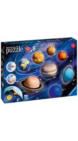 PUZZLE 3D 8 PLANETS