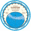 Planisphere for 40° North latitude