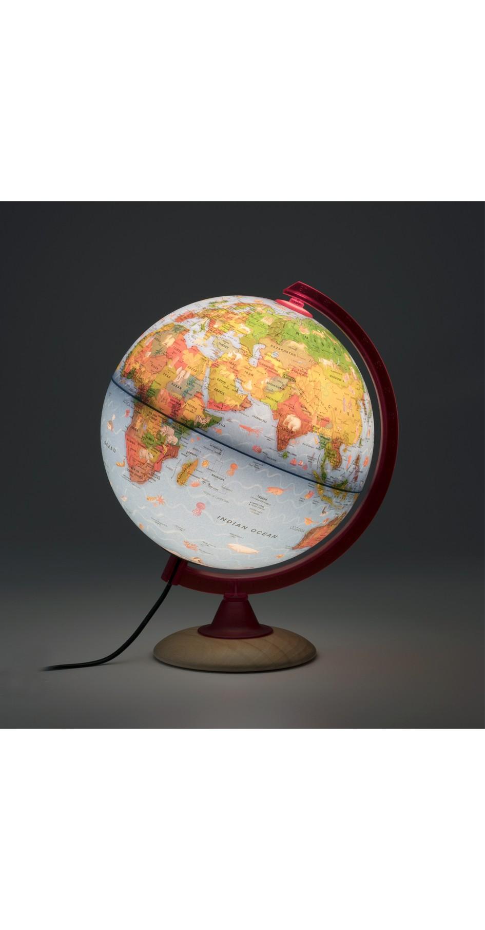 Circus globe 25 cm