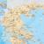 Pilgrim's Map of Greece for Greek National Tourism Organisation