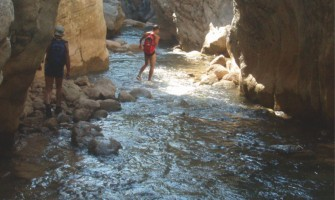 River trekking in Neda Gorge – Figaleia