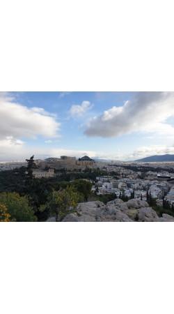 Ancient Athens / Modern Athens city map