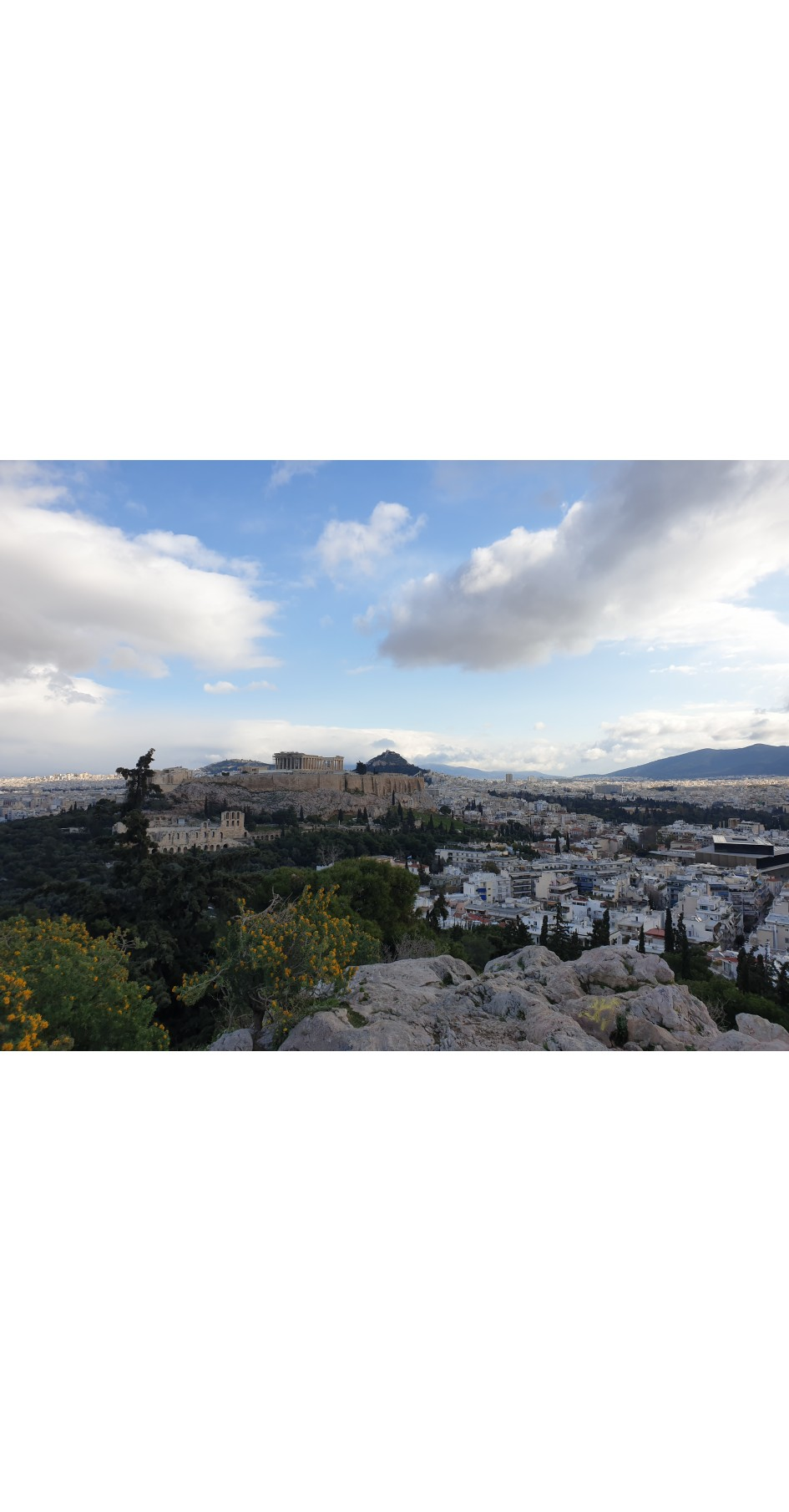 Ancient Athens / Modern Athens city map