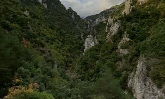 Enipeas footpath: from Litochoro to Prionia