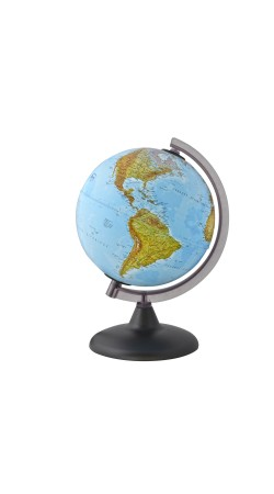 Globe physical 20 cm in Greek (no light, no cable)