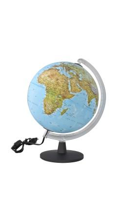 Globe physical 25 cm