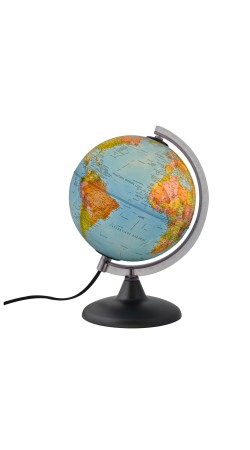 Globe political 20 cm in Greek
