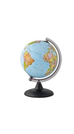 Globe political 20 cm in Greek (no light, no cable)