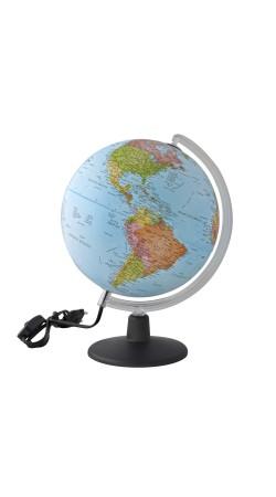 Globe political 25 cm in Greek