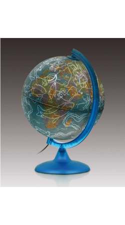 Night and Day globe 25 cm
