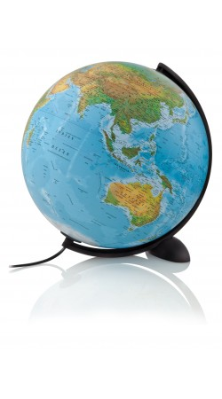 Ellipse globe 30 cm physical / political (blue)