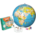 Inflatable Globe Animal Quest 42 cm