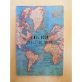 Vintage map A6 notebook