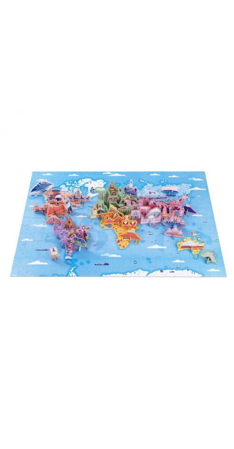 Educational Puzzle World Curiosities (350 pieces)