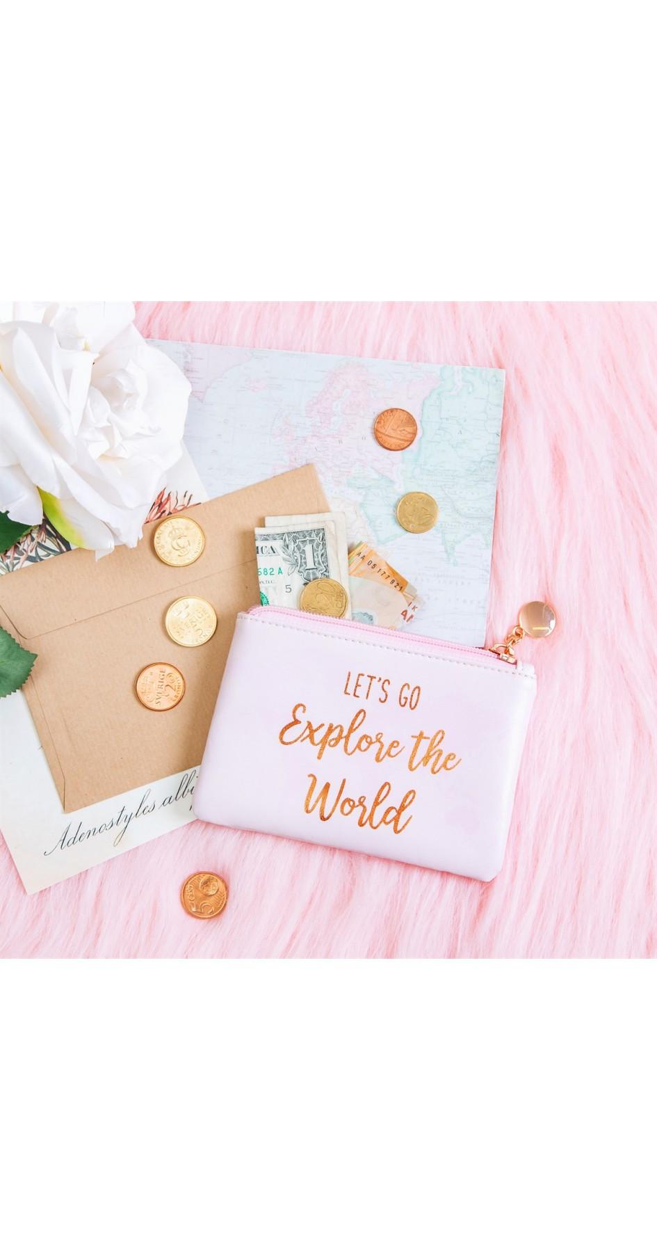World explorer coin purse