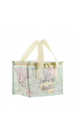 Map Lunchbag, Lunch with a map
