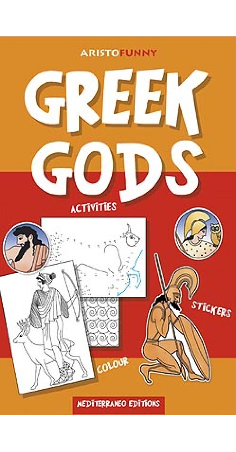 Greek Gods, activities book