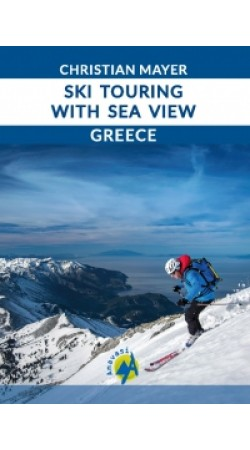 Ski touring with a sea view