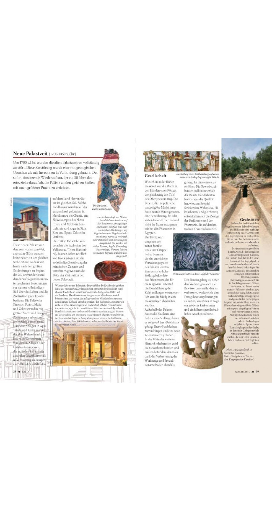 Crete : History - Sightseing - Museums - Nature - Maps (German)