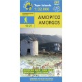 Amorgos • Hiking map 1:32 000