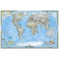 NG World Classic Map 110cm x 77cm