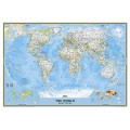 NG World Classic Map [Laminated] 110cm x 77cm
