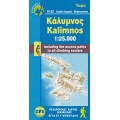 Kalimnos • Hiking map 1:25.000