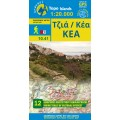 Kea (Tzia) • Hiking map 1:27.000