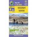 Mani • Hiking map 1:30 000