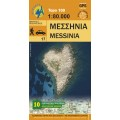 Messinia • touring and road map 1:80.000