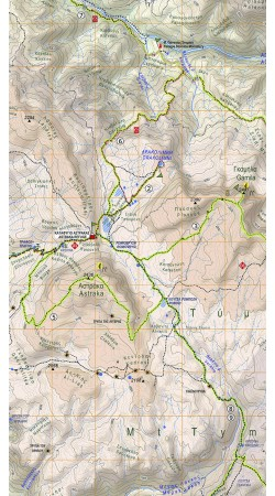 Zagori • Valia Kalda • Metsovo • Hiking map 1:40000