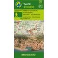 Nafpaktos - Panaitoliko - Karpenisi (Orini Nafpaktia / South Evritania) • Hiking map 1:50000