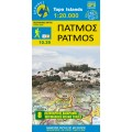 Patmos • Hiking map 1:20.000
